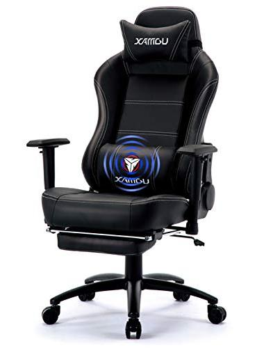 swivel gaming chair racing leather