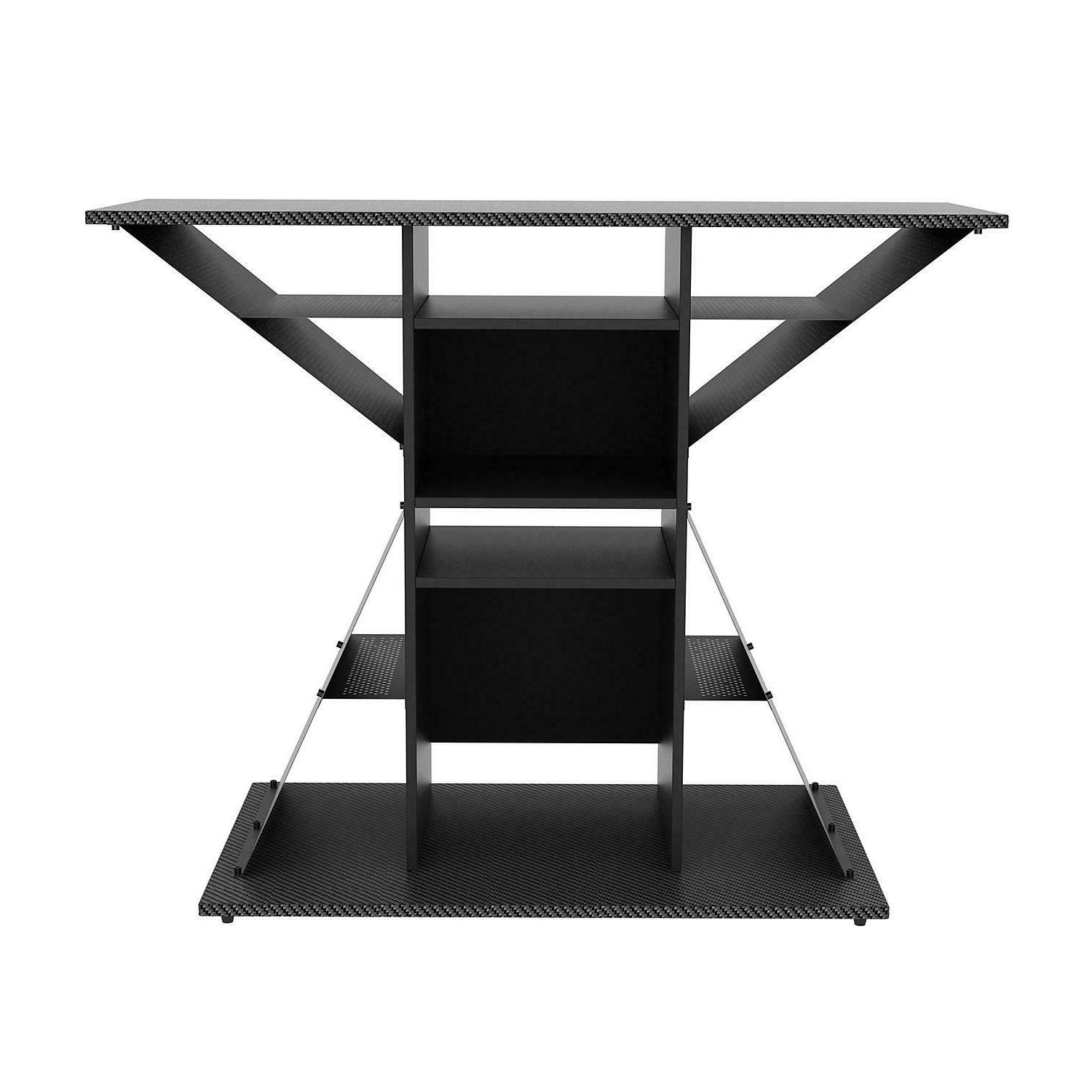 TV Video Game Stand, Gaming Storage Rack Hub Console for 42""