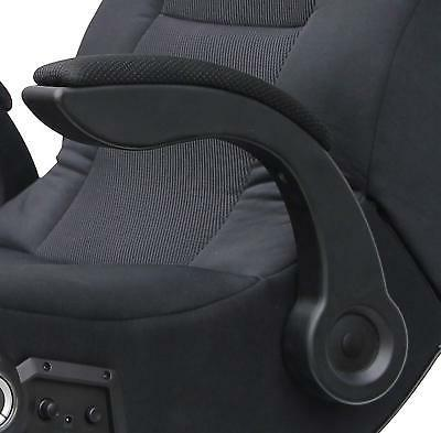 Video Gaming Chair Wired Playing Comfort Seat Rocker