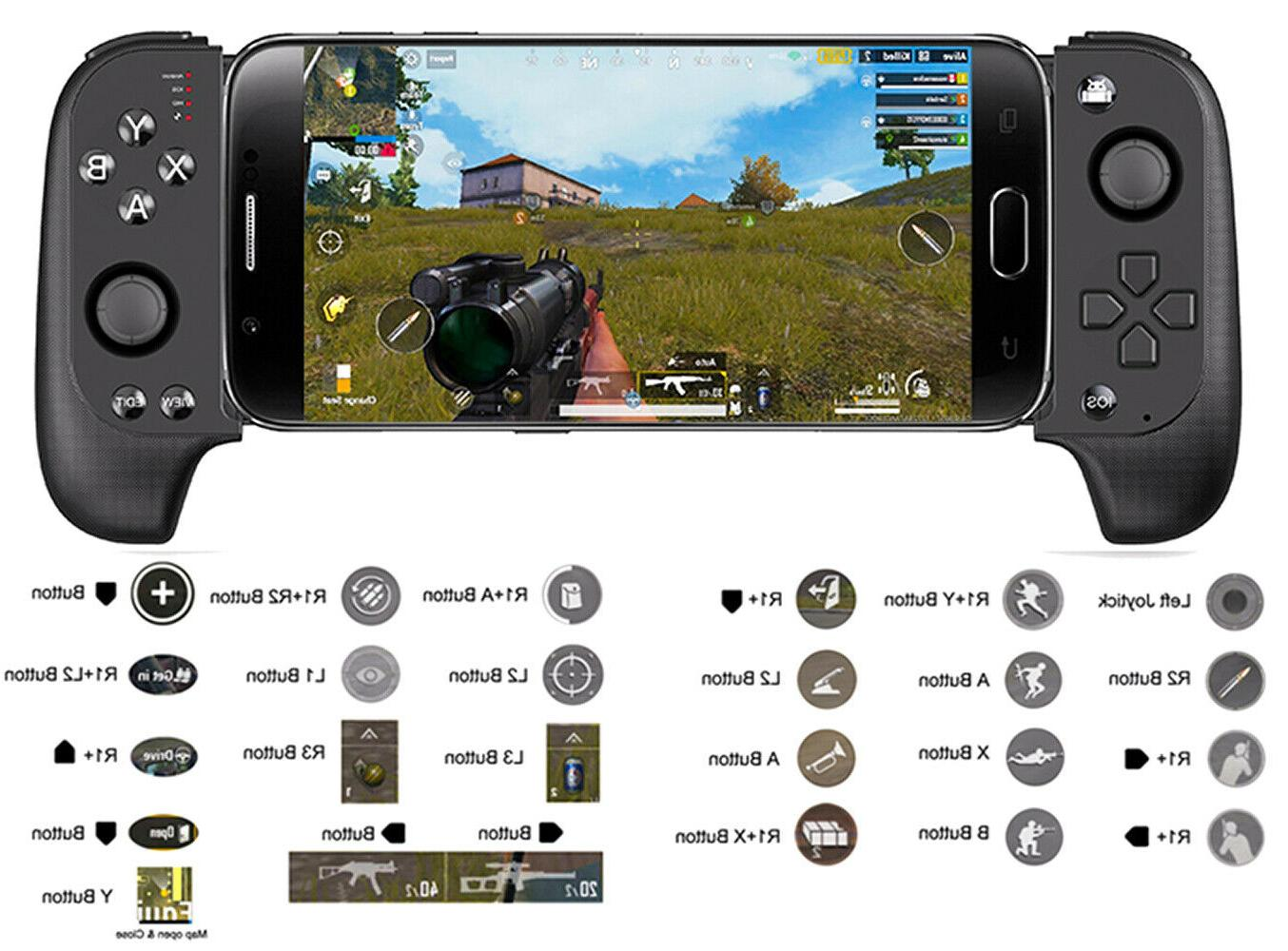 Wireless Phone Game Controller PUBG For black