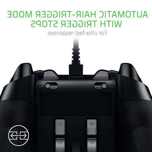 Razer Wolverine Ultimate: Remappable Multi-Function Triggers - and Chroma Controller Xbox One and