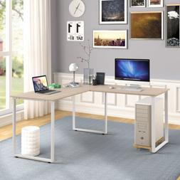 L-Shaped Corner Computer Gaming Desk Laptop Table Workstatio