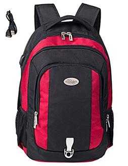 Travel laptop backpack, Business Durable Laptops Backpack wi