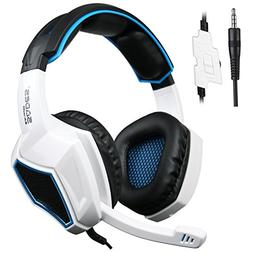 Latest Version Ps4 Headphones,Sades SA920 3.5mm Stereo Bass
