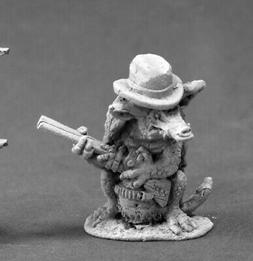 Reaper Miniatures Leatherhide, Armadillo Man #50320 Chronosc