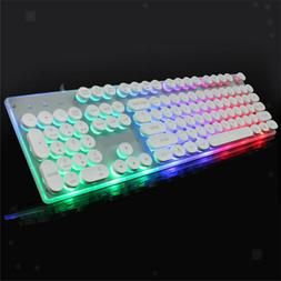 Lighting Computer Game Keyboard Mechanical 104 Key Component