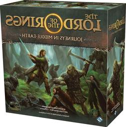 Lord of the Rings Journeys in Middle Earth Board Game Sealed