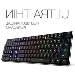 Mechanical Keyboard HAVIT RGB Backlit Wired Gaming Keyboard