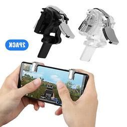 Mobile Phone Shooter Controller Gamepad Game Trigger Fire Bu