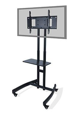 "Atlantic Mobile TV Cart with Stand Mount for 32"" - 70"" Flat"