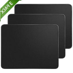 MROCO Mouse Pads Pack with Non-Slip Rubber Base, Premium-Tex