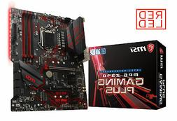 MSI MPG Z390 Gaming Plus LGA1151  M.2 USB 3.1 Gen 2 DDR4 HDM