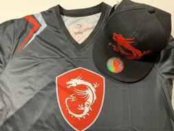 "MSI True Gaming Dragon ""Some Are PC, We Are Gaming"" Shirt &"