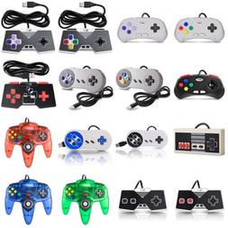 N64 / SNES / NES USB Wired Gaming Controller Pad Joystick Fo