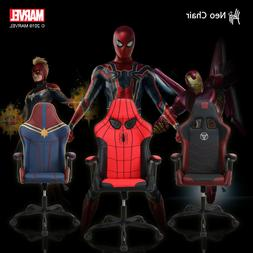 Licensed Marvel Gaming Chair Ergonomic Neck Lumbar Support V