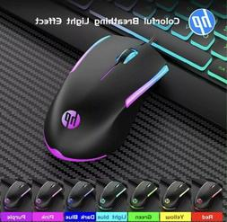 New 2020 HP Wired RGB Gaming Mouse M160 High Performance Mou