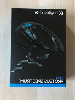 New & sealed Logitech G502 Proteus Spectrum RGB Gaming Mouse