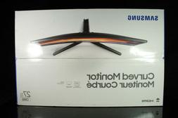 """NEW Samsung CR50 27"""" FHD Curved Bezel- Less Monitor"""