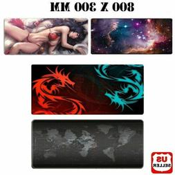 New Extended Gaming Mouse Pad Large Size Desk Keyboard Mat S