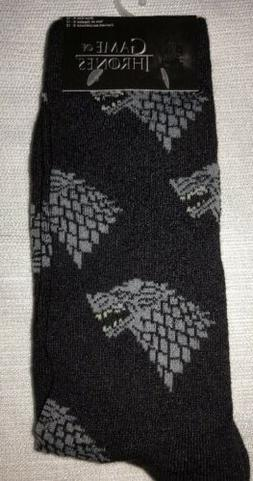 New GAME OF THRONES Mens Pair Of Novelty Crew Socks Size 6-1