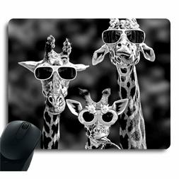 "NEW GIRAFFE MOUSE PAD LARGE OPTICAL LASER GAMING FUN 12.6"" X"