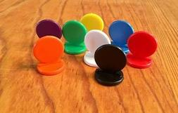 NEW Koplow Stand Up Game Pawns Set of 8 Plastic Tokens Piece