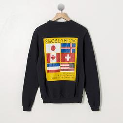 10 DEEP NYC NAVY VCTRY FLAGS SPORTS GAME CREW MENS STREETWEA