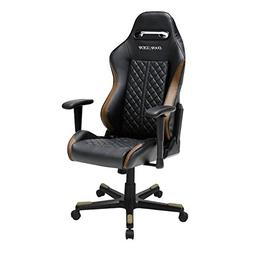 DXRacer OH/DF73/NC Black & Coffee Drifting Series Gaming Cha