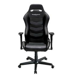 DXRacer OH/DM166/N Black Drifting Series Gaming Chair & Cush