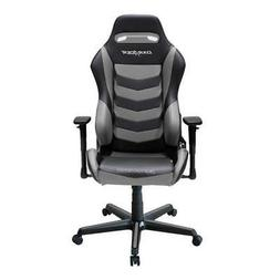 DXRacer OH/DM166/NG Black & Gray Drifting Series Gaming Chai