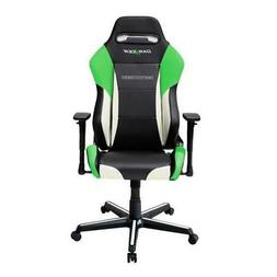 DXRacer OH/DM61/NWE Black, White & Green Drifting Series Gam