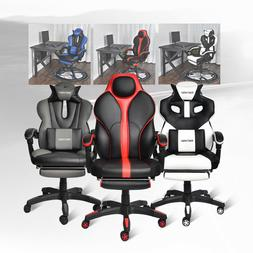 Office Gaming Chair High Back Racing Recliner Executive Comp
