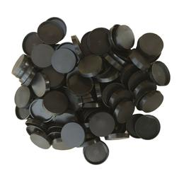 Pack of 100, 25 mm Plastic Round Bases Miniature Wargames Ta