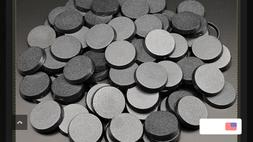 Pack of 100, 32 mm Plastic Round Bases Miniature Wargames Ta