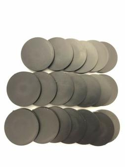 Pack of 20, 40 mm Plastic Round Bases Miniature Wargames Tab