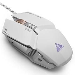 PC Gaming Mouse RGB Computer Mice 4 DPI 7 Buttons for Gaming