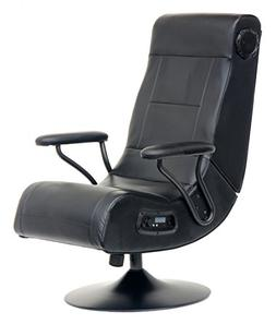 Player One Pedestal Gaming Chair with Built-in Wireless 2.1