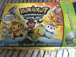 POKEMON CHAMPION ISLAND BOARD GAME DVD SNAP TV GAMES Complet