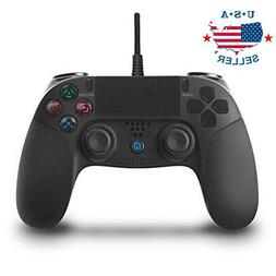 For PlayStation 4 Wired Game Controller Remote Control Gamep