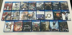 PS4 Playstation 4 Games Lot - GREAT GAMES!