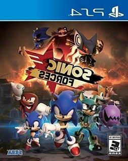 PLAYSTATION 4 PS4 VIDEO GAME SONIC FORCES BRAND NEW AND SEAL
