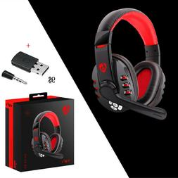For PS4/Xbox One Bluetooth Gaming Headset  with Microphone +