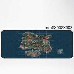 PUBG Big Mouse Pad Anti-Slip Gaming Mice Table Mat  800 * 30