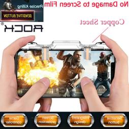PUBG Mobile Cell Phone Game Controller Fire Button Key Gamep
