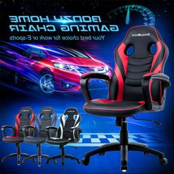 Racing Gaming Chair Ergonomic Design Swivel Office PC Desk C