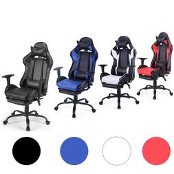 Racing Gaming Chair Ergonomic High Back Recliner Computer Se