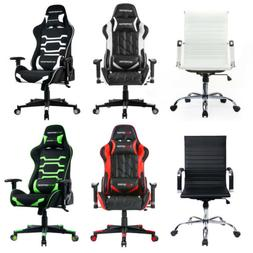 Adjustable Racing Style Gaming Chair Office High Back Ergono