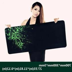Razer Speed Non-slip Thicken Gaming Mouse Pad Computer Keybo