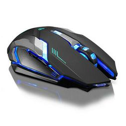Rechargeable Wireless Silent LED Backlit USB Optical Ergonom