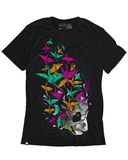 INTO THE AM Rising Imagination Men's Graphic Tee Shirt